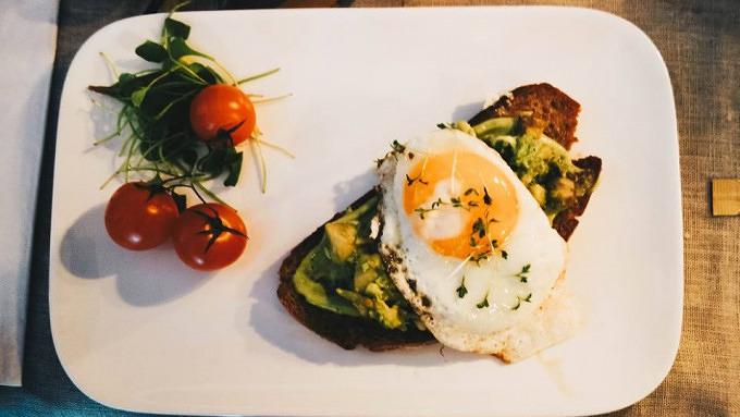 Holzkranich Frühstück