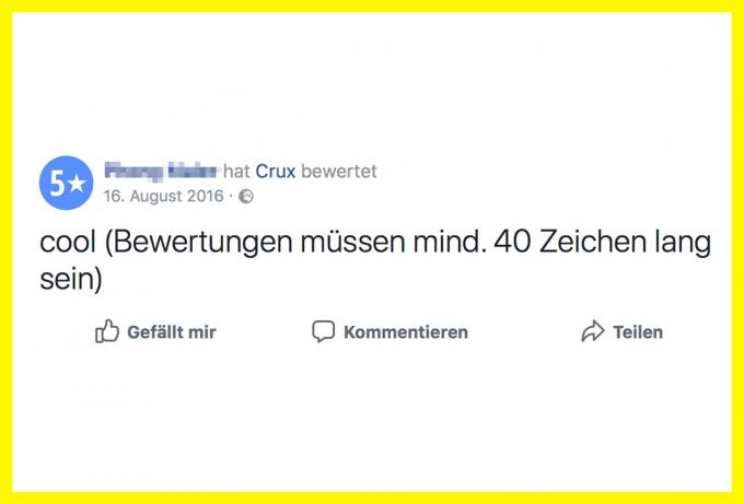 Crux München Bewertung