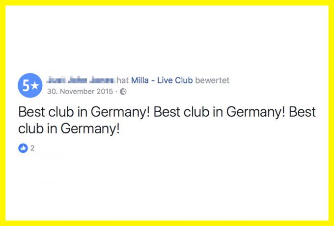 Milla Live Club München