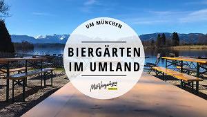 11 wunderschöne Biergärten in Münchens Umland