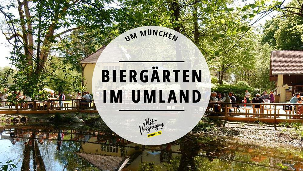 Biergärten Umland