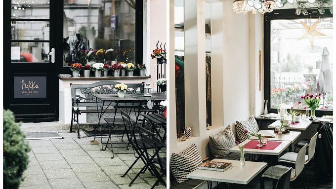 Eine echte Ruheoase: Das Café Mokka im Schlachthofviertel