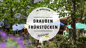 11 Lokale in München, in denen du schön draußen frühstücken kannst
