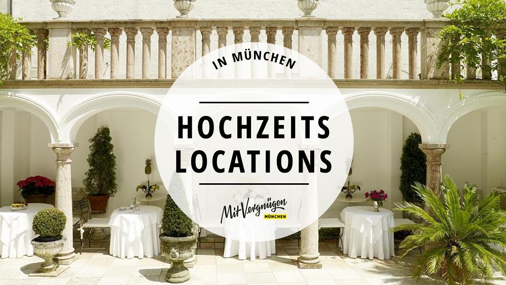 11 wunderschöne Hochzeitslocations in München