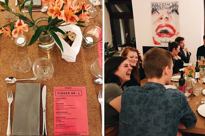 Abendessen mit Fremden: Gemeinsam schlemmen bei Futterneid