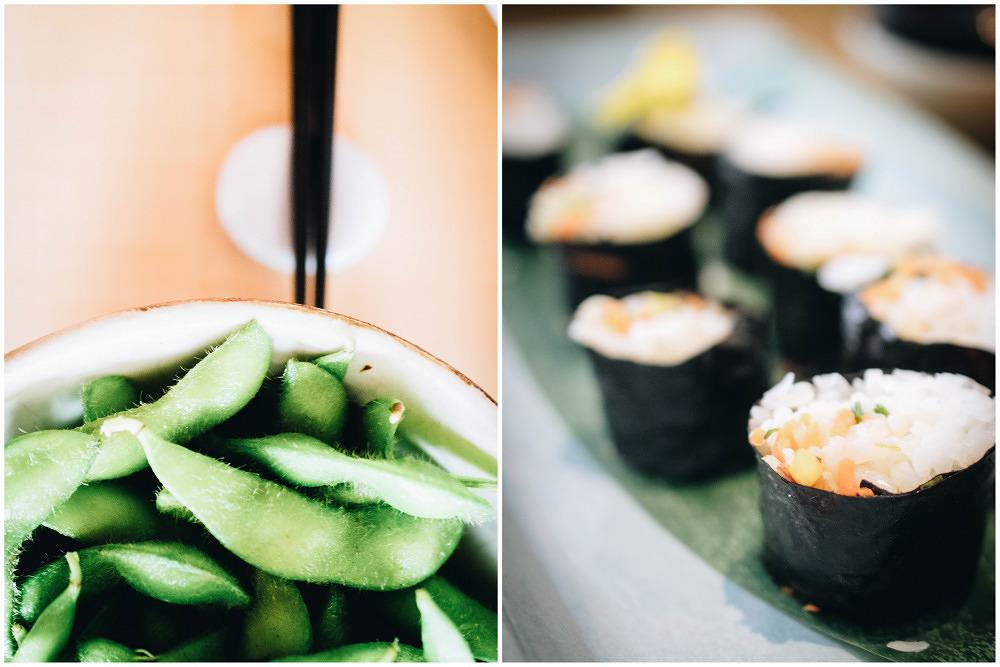 Sushi, Sake und Dachterrasse im Emiko am Viktualienmarkt
