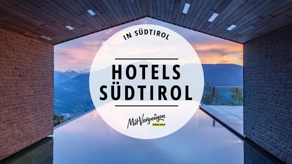 11 wunderschöne Hotels in Südtirol