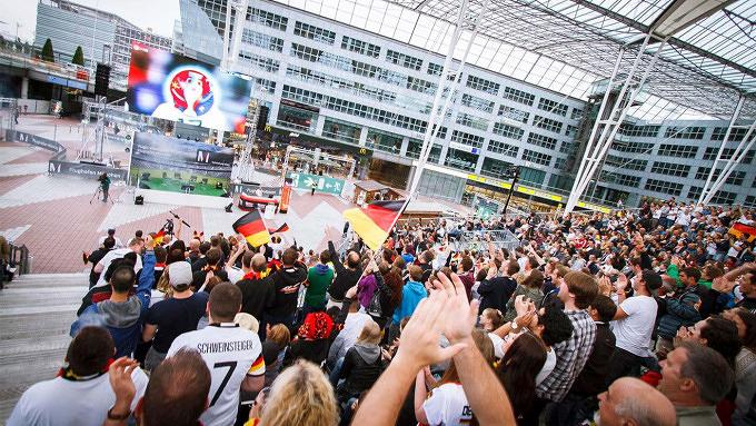 Public Viewing FLughafen München