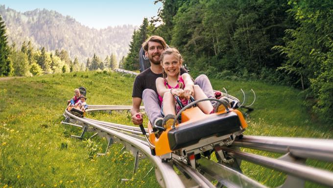 Alpine Coaster Ammergauer Alpen