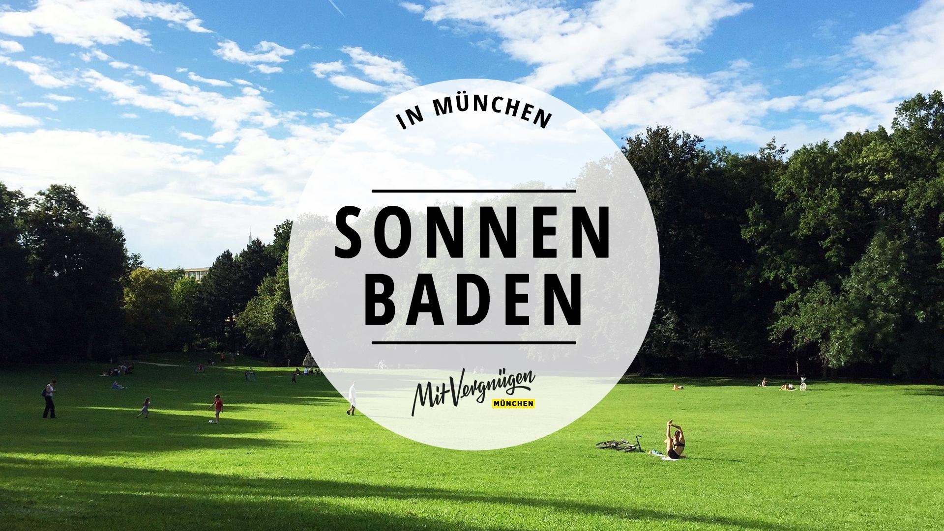 11 schöne Orte in München, an denen ihr euch sonnen könnt