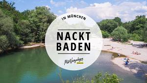11 schöne Orte zum Nacktbaden in und um München