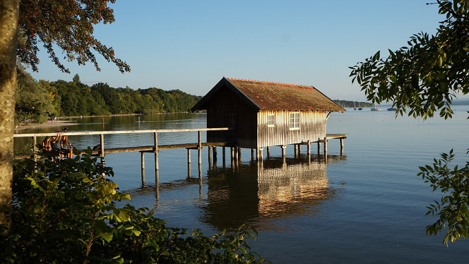 Fahrradtour Ammersee