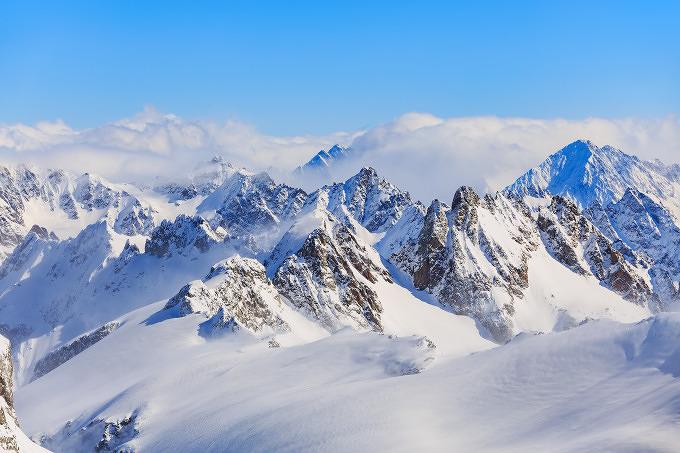 Alpen Berge Panorama