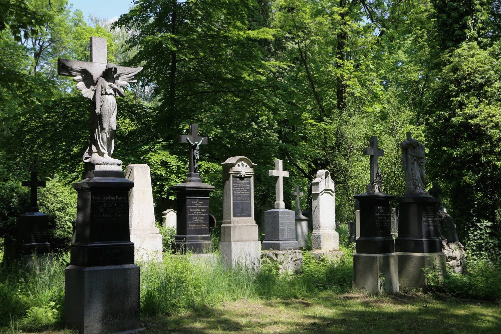 Alter Südfriedhof Vergnügte Viertel damals und heute Glockenbach