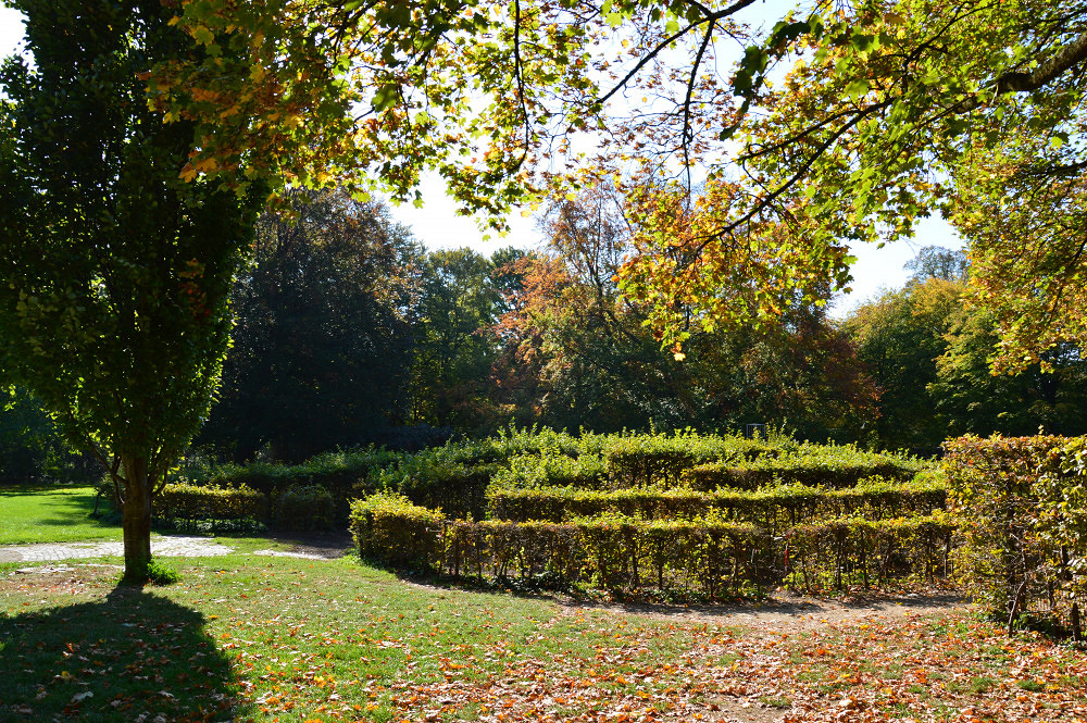 Luitpoldpark Mein Lieblingsort Irrgarten