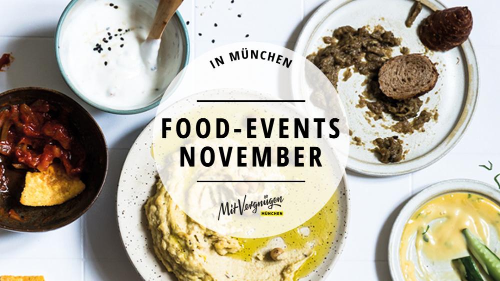 11 Food-Events im November 2018, die du nicht verpassen solltest