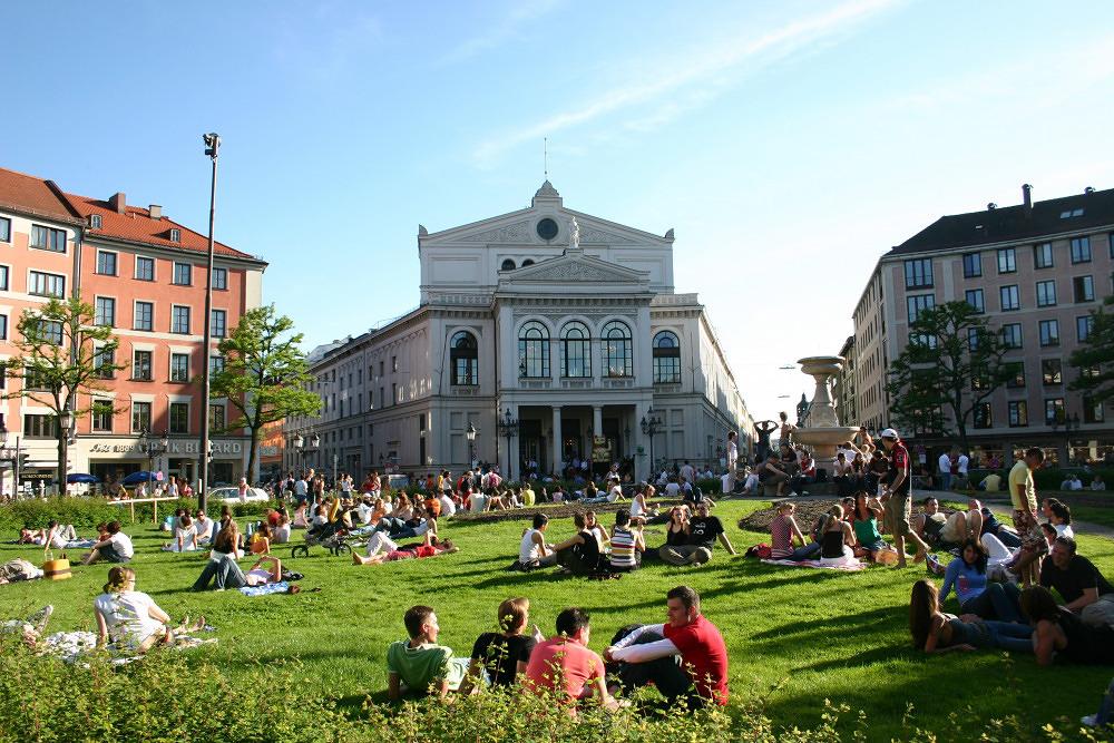 Vergnügte Viertel: Das Glockenbachviertel damals und heute
