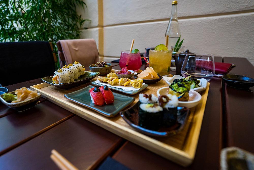 Kansha Restaurant vegan Japaner