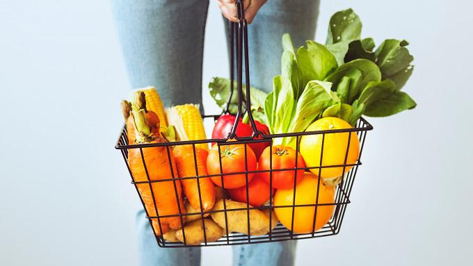 Bio einkaufen Gemüse