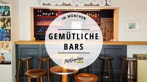 21 gemütliche Bars in München ohne Schickimicki