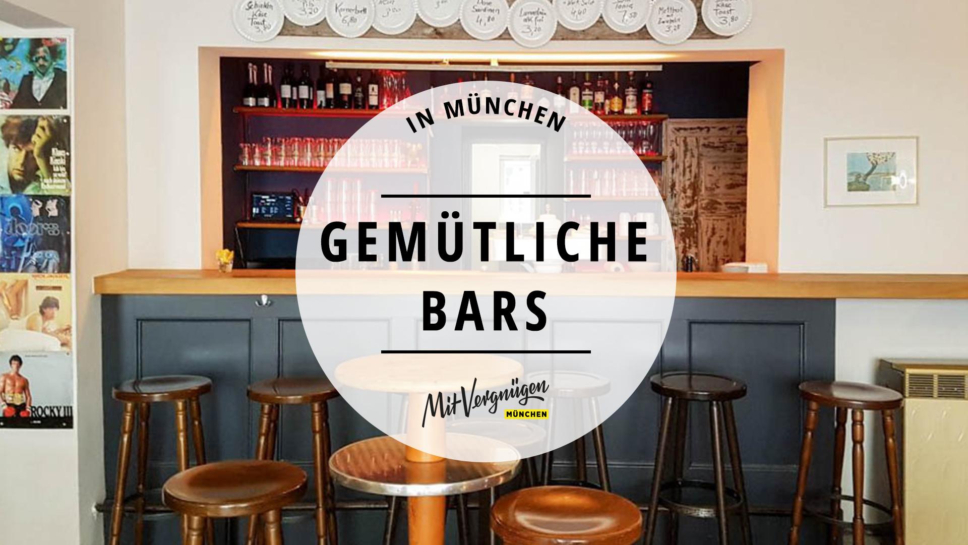 21 Gemütliche Bars In München Ohne Schickimicki Mit Vergnügen München