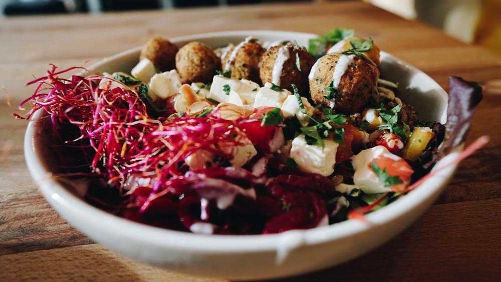 Green Cantine Lekkerei Mittagessen Salate