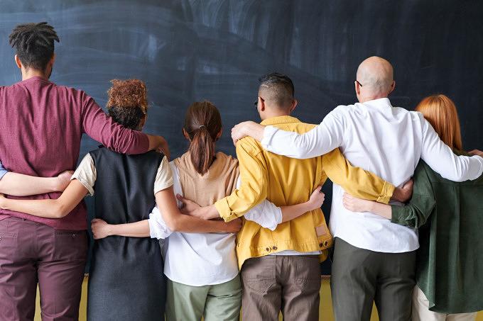 Gruppe Team Zusammen
