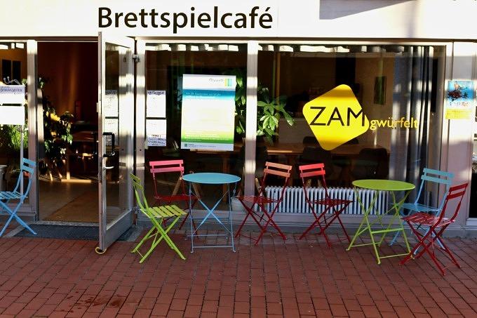 Brettspielflohmarkt ZAMgwürfelt the Boardgamecafé Giesing