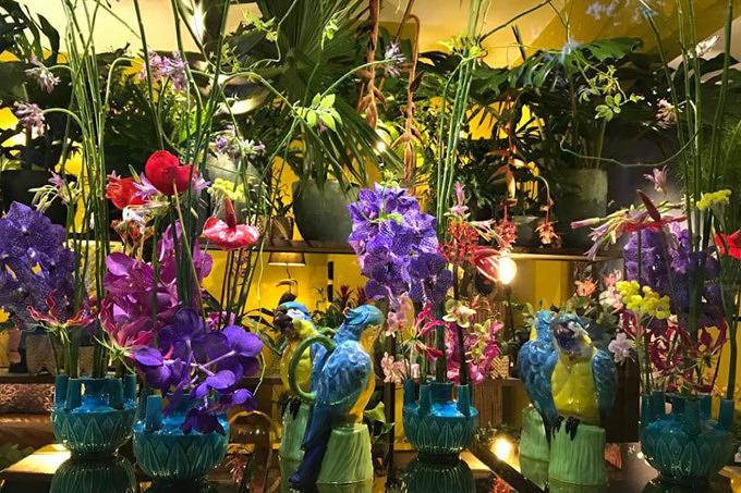 Herr Wismayer für Blumen