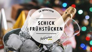 11 schicke Frühstückslocations in München für besondere Anlässe