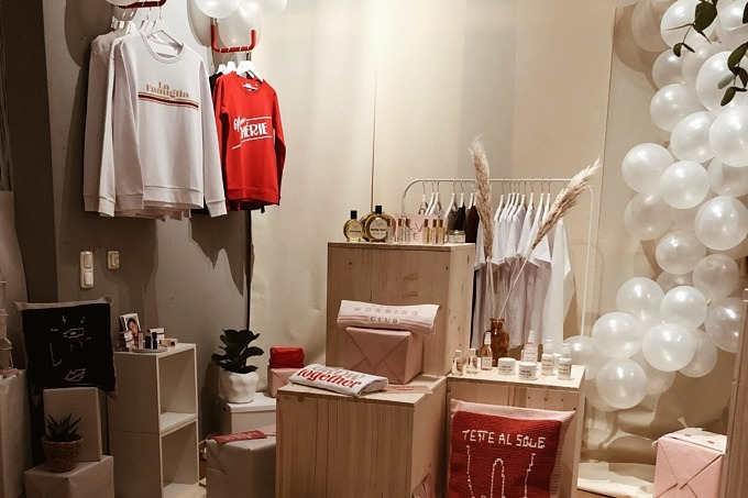 ADIEU CLICHÉ Studio Locally Inspired Christmas Pop Up Store