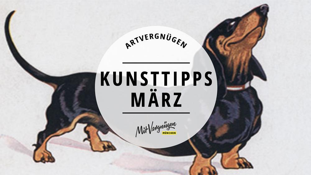 Dackel Ausstellung Valentin-Karlstadt-Musäum, Kunsttipps März Artvergnügen 2019