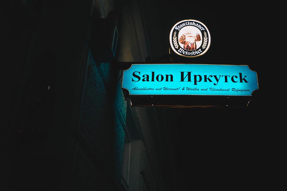 Mein Lieblingsort in München #9: Der Salon Irkutsk in der Maxvorstadt