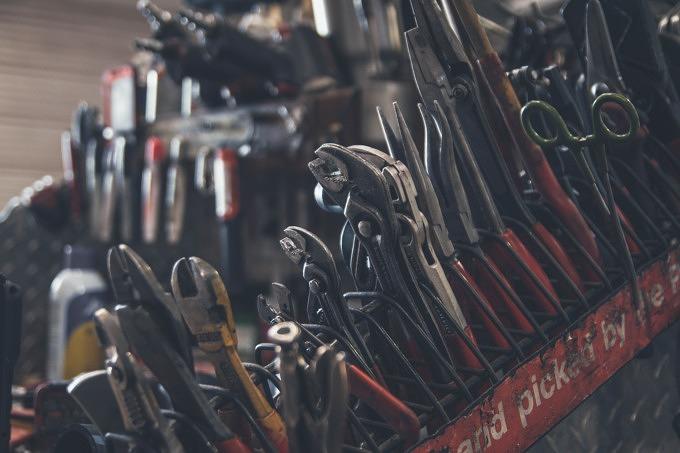 Repair Café Reparieren Werkzeug