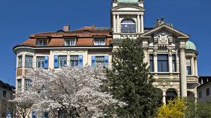 wunderschöne Häuser in München SchwabingGeorgenstraße Palais Bissing