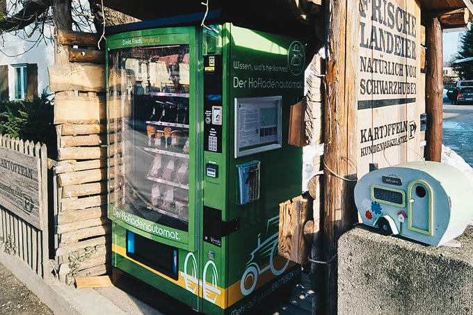 Erntebox: München hat endlich einen Hofladenautomat!