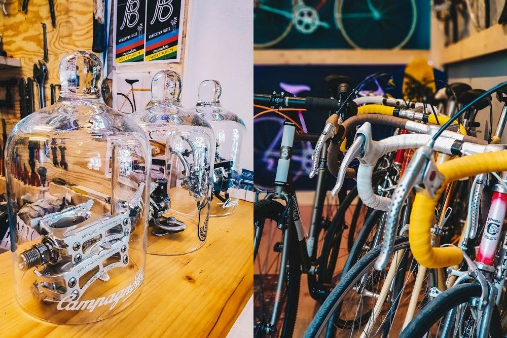 Bici Bavarese: Vintage Rennräder & Spezi im Stüberl