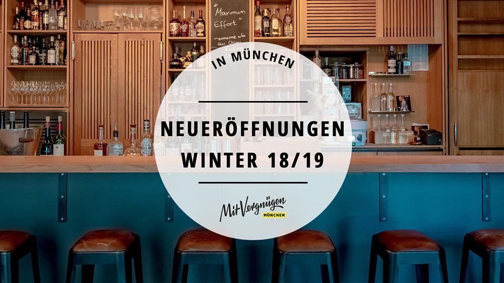 11 Restaurants, Cafés und Bars, die im Winter 2018 / 2019 eröffnet haben