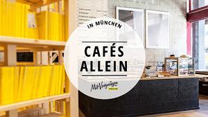 11 Cafés in München, in die du gut allein gehen kannst