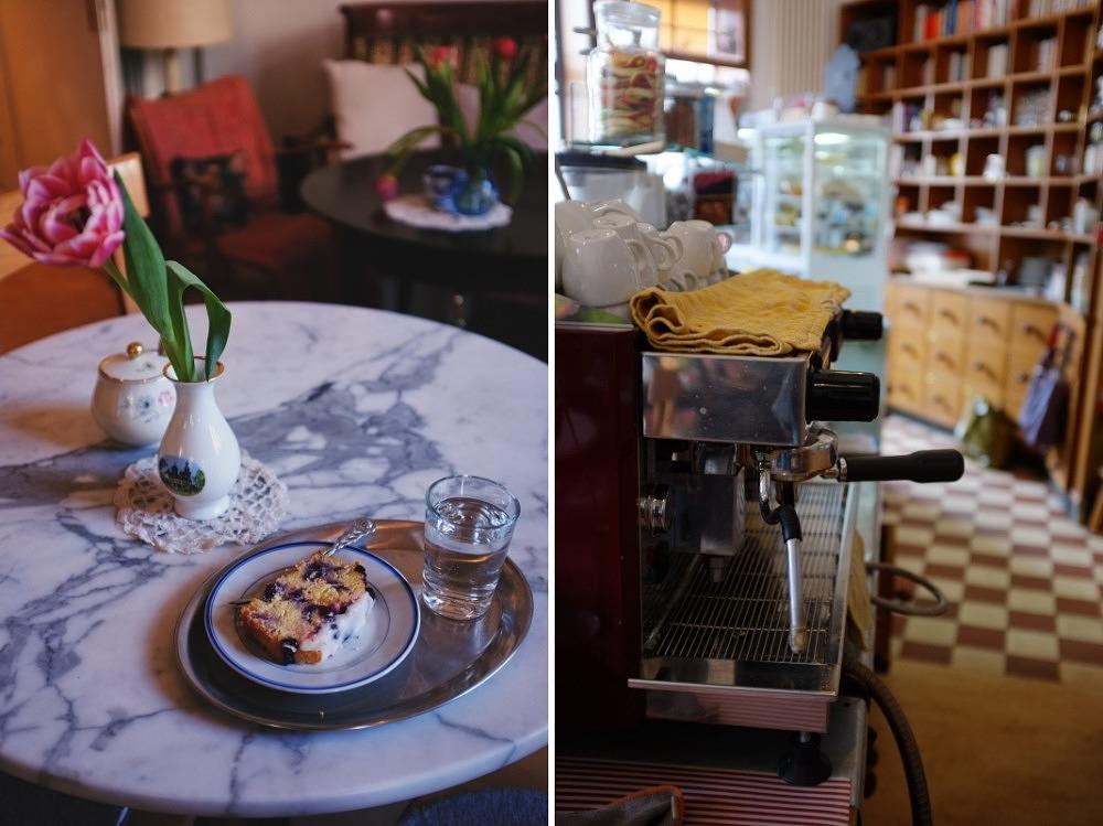Galerie-Café Käthe: Den Tag vertrödeln bei veganem Kuchen