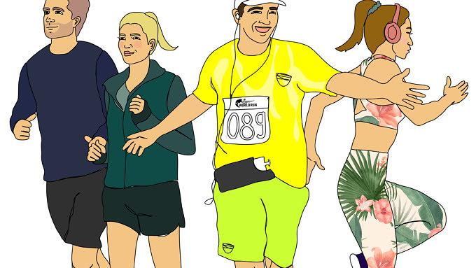 11 Läufertypen