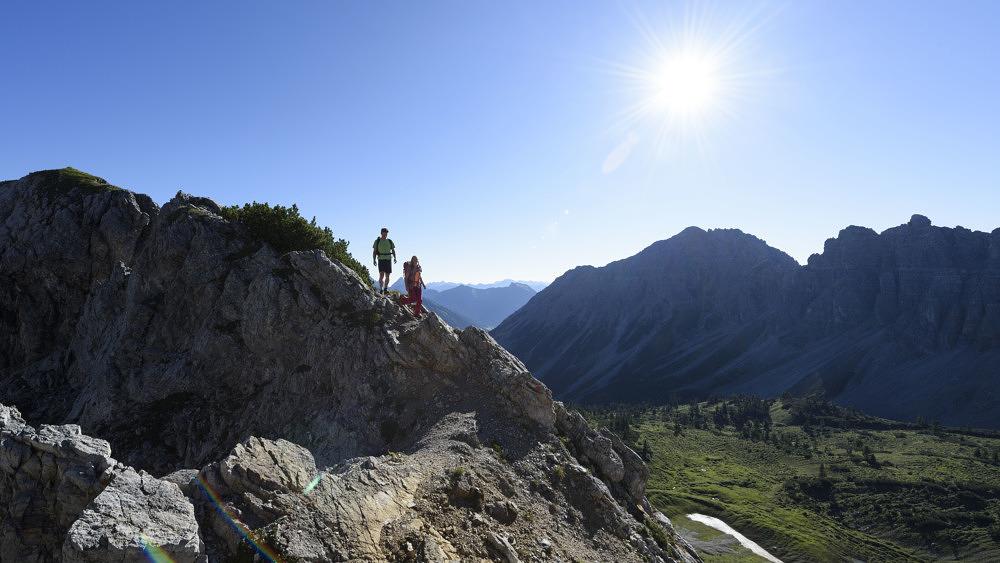 Wandern, klettern, rennradeln: Sportlich unterwegs im Tannheimer Tal