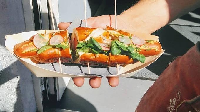 Liebelei Hotdog Mittagessen