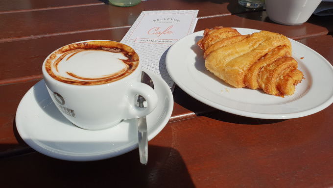 Franzbrötchen Cafés Bellevue di Monaco