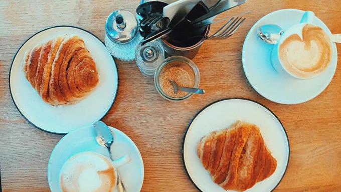 Franzbrötchen Cafés Caffe Conte