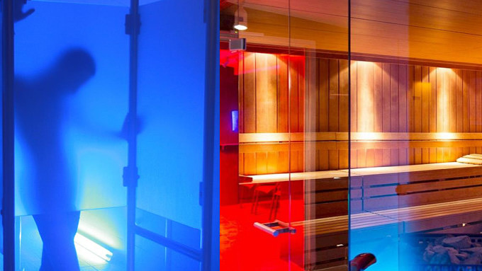 Deutsche Eiche Badehaus Sauna