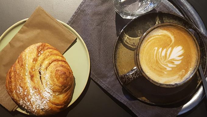 Franzbrötchen Cafés Loretta