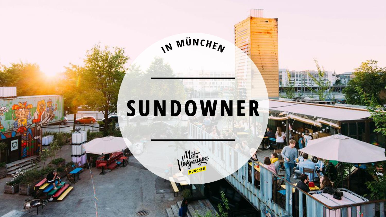 11 Cafés und Bars in München für den perfekten Sundowner