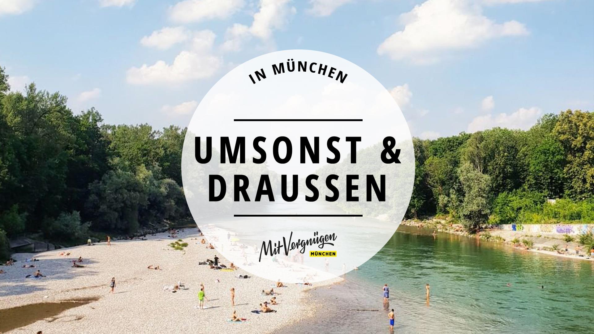 Umsonst & draußen: 11 kostenlose Sommer-Vergnügen in München