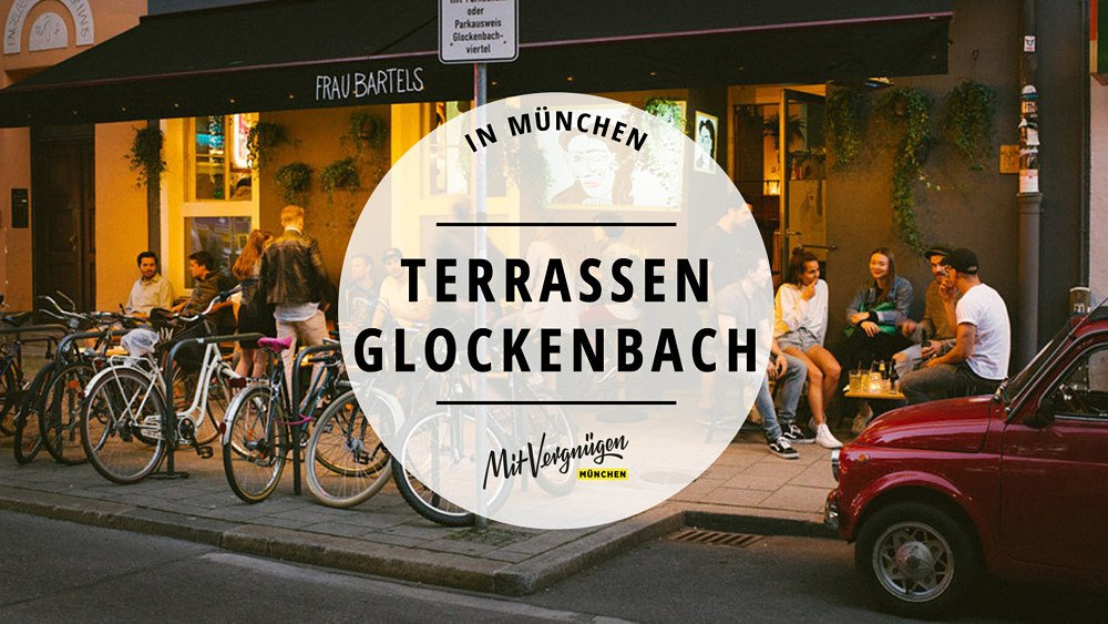 Terrassen Glockenbach Draußen Essen Trinken
